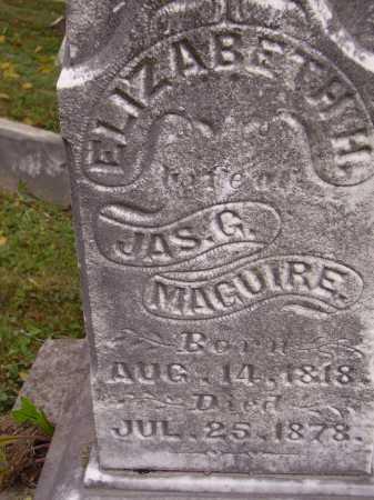 LANDERS MAGUIRE, ELIZABETH - Meigs County, Ohio | ELIZABETH LANDERS MAGUIRE - Ohio Gravestone Photos
