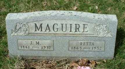 MAGUIRE, ARETTA ESTELLA - Meigs County, Ohio | ARETTA ESTELLA MAGUIRE - Ohio Gravestone Photos