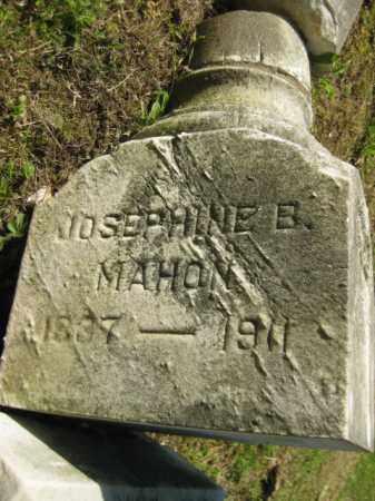 MAHON, JOSEPHINE B - Meigs County, Ohio | JOSEPHINE B MAHON - Ohio Gravestone Photos