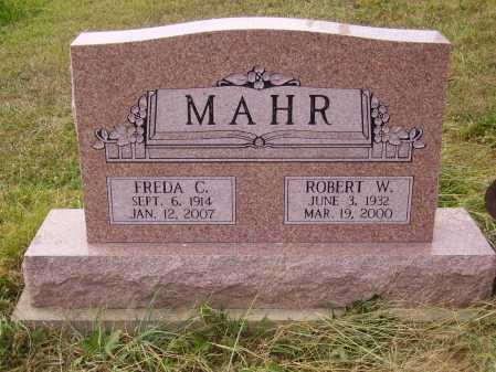 MAHR, ROBERT W. - Meigs County, Ohio | ROBERT W. MAHR - Ohio Gravestone Photos