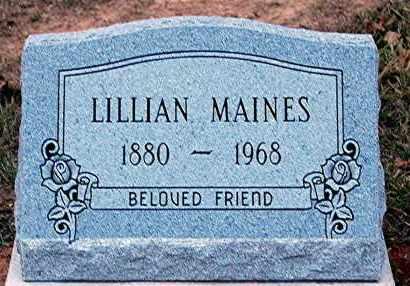 MAINES, LILLIAN - Meigs County, Ohio | LILLIAN MAINES - Ohio Gravestone Photos