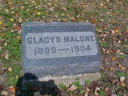 MALONE, GLADYS - Meigs County, Ohio | GLADYS MALONE - Ohio Gravestone Photos
