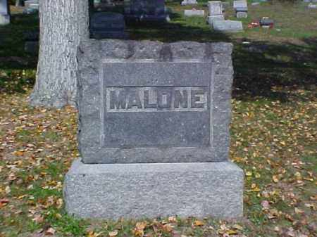 MALONE, MONUMENT - Meigs County, Ohio | MONUMENT MALONE - Ohio Gravestone Photos