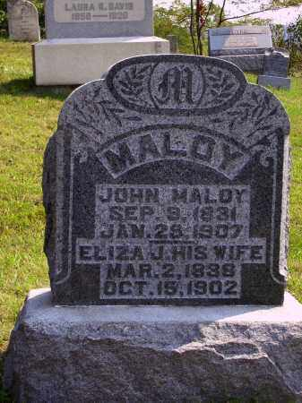 MALOY, JOHN - Meigs County, Ohio | JOHN MALOY - Ohio Gravestone Photos
