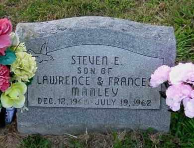 MANLEY, STEVEN E. - Meigs County, Ohio | STEVEN E. MANLEY - Ohio Gravestone Photos