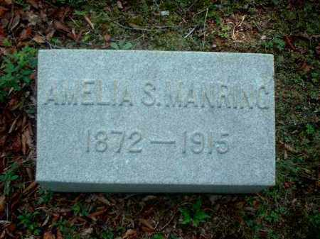 MANRING, AMELIA S. - Meigs County, Ohio | AMELIA S. MANRING - Ohio Gravestone Photos