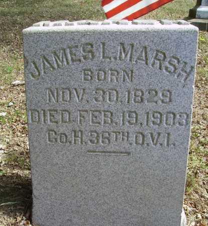 MARCH, JAMES L. - Meigs County, Ohio | JAMES L. MARCH - Ohio Gravestone Photos