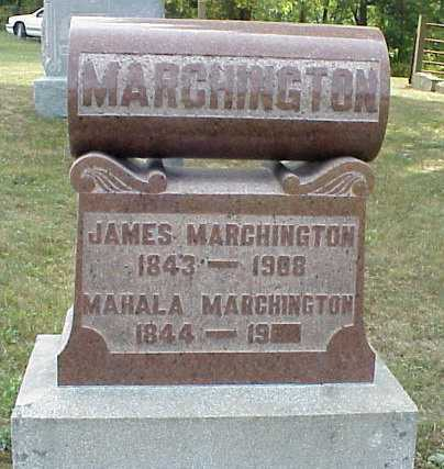 MARCHINGTON, MAHALA - Meigs County, Ohio | MAHALA MARCHINGTON - Ohio Gravestone Photos