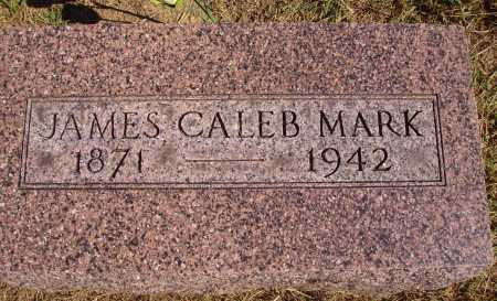 MARK, JAMES CALEB - Meigs County, Ohio | JAMES CALEB MARK - Ohio Gravestone Photos