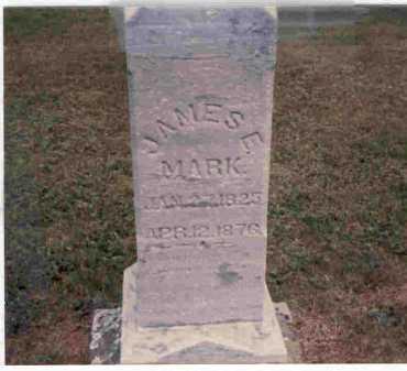 MARK, JAMES E. - Meigs County, Ohio | JAMES E. MARK - Ohio Gravestone Photos