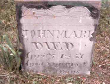 MARK, JOHN - Meigs County, Ohio | JOHN MARK - Ohio Gravestone Photos
