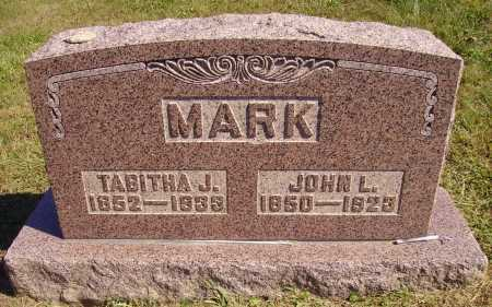 MARK, TABITHA J. - Meigs County, Ohio | TABITHA J. MARK - Ohio Gravestone Photos