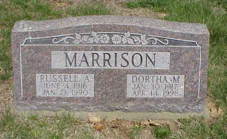 MARRISON, DORTHA M. - Meigs County, Ohio | DORTHA M. MARRISON - Ohio Gravestone Photos
