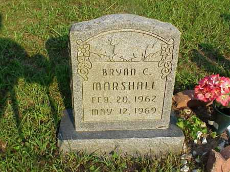 MARSHALL, BRYAN C. - Meigs County, Ohio | BRYAN C. MARSHALL - Ohio Gravestone Photos