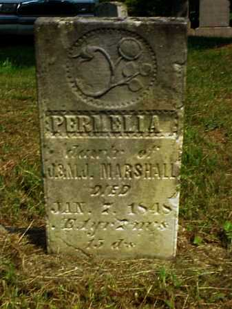 MARSHALL, PERMELIA - Meigs County, Ohio | PERMELIA MARSHALL - Ohio Gravestone Photos