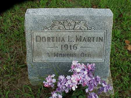 MARTIN, DORTHA L. - Meigs County, Ohio | DORTHA L. MARTIN - Ohio Gravestone Photos