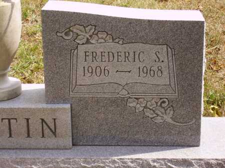 MARTIN, FREDERIC S. -  CLOSEVIEW - Meigs County, Ohio | FREDERIC S. -  CLOSEVIEW MARTIN - Ohio Gravestone Photos