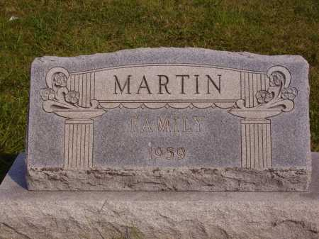 MARTIN, FAMILY MONUMNET - Meigs County, Ohio | FAMILY MONUMNET MARTIN - Ohio Gravestone Photos
