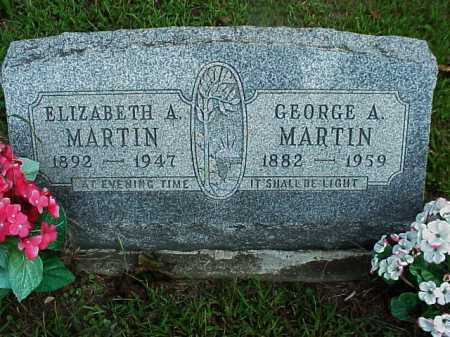 MARTIN, GEORGE A. - Meigs County, Ohio | GEORGE A. MARTIN - Ohio Gravestone Photos