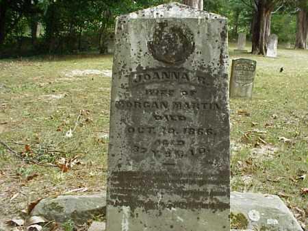 MARTIN, JOANNA R. - Meigs County, Ohio | JOANNA R. MARTIN - Ohio Gravestone Photos