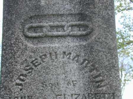 MARTIN, JOSEPH - CLOSE VIEW - Meigs County, Ohio | JOSEPH - CLOSE VIEW MARTIN - Ohio Gravestone Photos