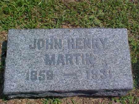 MARTIN, JOHN HENRY - Meigs County, Ohio | JOHN HENRY MARTIN - Ohio Gravestone Photos