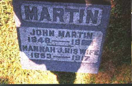 MARTIN, JOHN - Meigs County, Ohio | JOHN MARTIN - Ohio Gravestone Photos