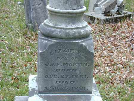 MARTIN, LIZZIE - CLOSE VIEW - Meigs County, Ohio | LIZZIE - CLOSE VIEW MARTIN - Ohio Gravestone Photos