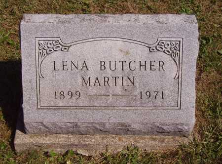 BUTCHER MARTIN, LENA - Meigs County, Ohio | LENA BUTCHER MARTIN - Ohio Gravestone Photos