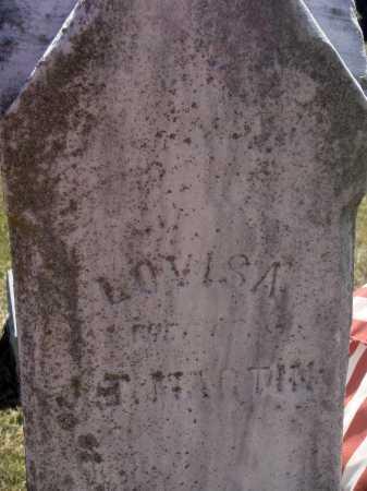 MARTIN, LOVISA - Meigs County, Ohio | LOVISA MARTIN - Ohio Gravestone Photos