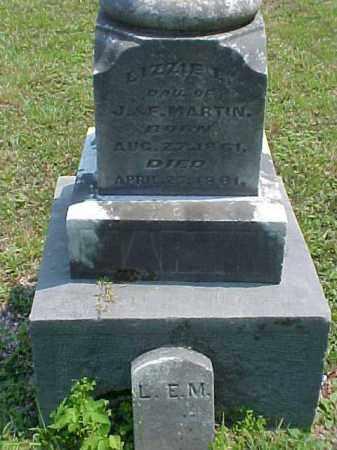 MARTIN, LIZZIE E. - Meigs County, Ohio | LIZZIE E. MARTIN - Ohio Gravestone Photos