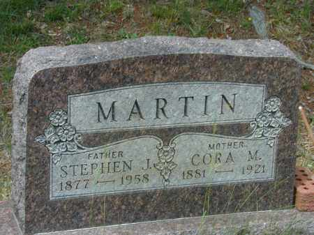 YOUNG MARTIN, CORA M. - Meigs County, Ohio | CORA M. YOUNG MARTIN - Ohio Gravestone Photos