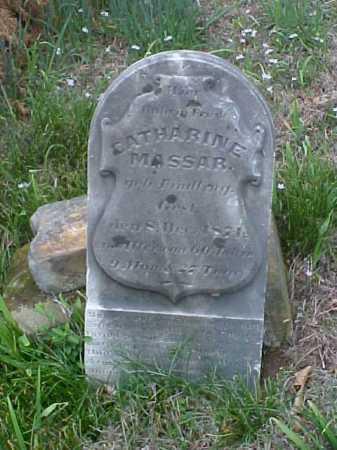 MASSAR, CATHARINE - Meigs County, Ohio   CATHARINE MASSAR - Ohio Gravestone Photos