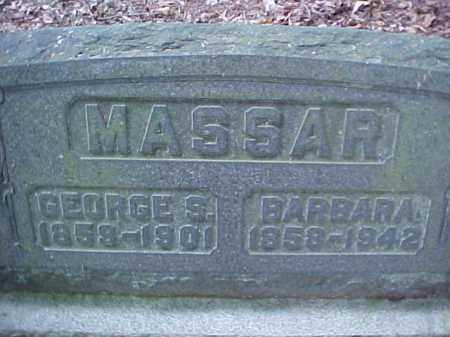 MASSAR, GEORGE S. - Meigs County, Ohio | GEORGE S. MASSAR - Ohio Gravestone Photos