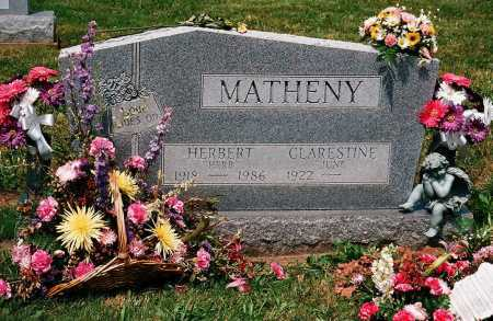 MATHENY, HERBERT - Meigs County, Ohio | HERBERT MATHENY - Ohio Gravestone Photos