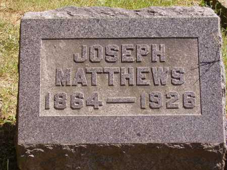 MATTHEWS, JOSEPH - Meigs County, Ohio | JOSEPH MATTHEWS - Ohio Gravestone Photos