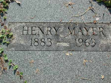 MAYER, HENRY - Meigs County, Ohio | HENRY MAYER - Ohio Gravestone Photos