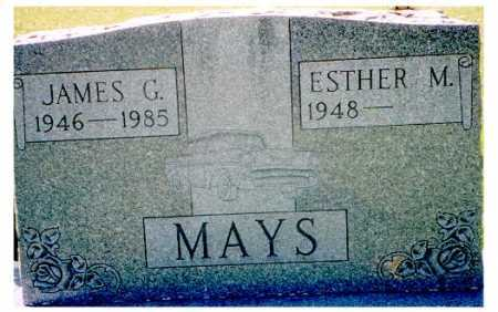 MAYS, ESTHER M. - Meigs County, Ohio | ESTHER M. MAYS - Ohio Gravestone Photos