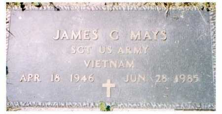 MAYS, JAMES G. - Meigs County, Ohio | JAMES G. MAYS - Ohio Gravestone Photos