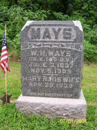 MAYS, W. - Meigs County, Ohio | W. MAYS - Ohio Gravestone Photos