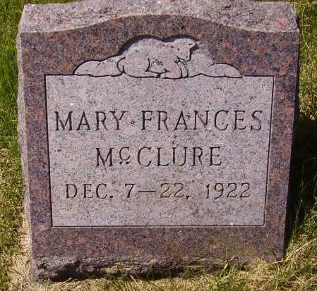 MC CLURE, MARY FRANCES - Meigs County, Ohio | MARY FRANCES MC CLURE - Ohio Gravestone Photos