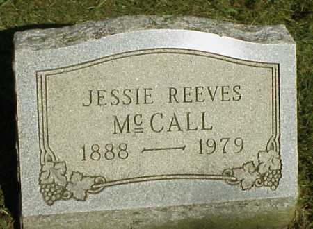 REEVES MCCALL, JESSIE - Meigs County, Ohio | JESSIE REEVES MCCALL - Ohio Gravestone Photos