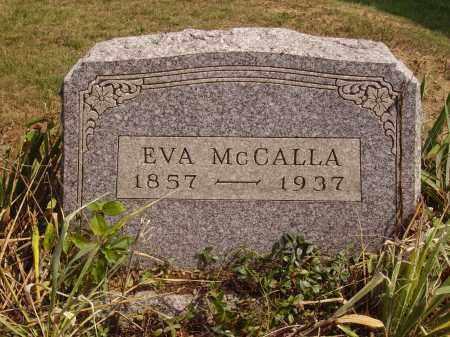 MCCALLA, EVA - Meigs County, Ohio | EVA MCCALLA - Ohio Gravestone Photos