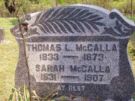 MCCALLA, THOMAS L. - Meigs County, Ohio | THOMAS L. MCCALLA - Ohio Gravestone Photos