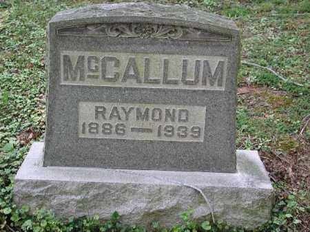 MCCALLUM, RAYMOND - Meigs County, Ohio | RAYMOND MCCALLUM - Ohio Gravestone Photos