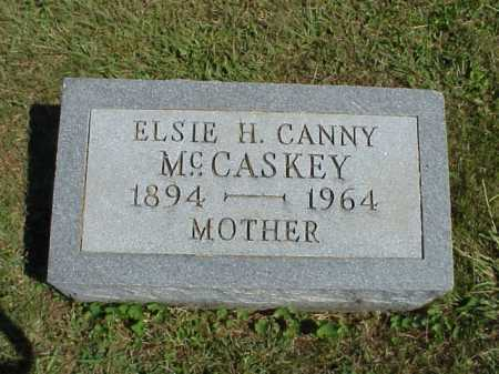MCCASKEY, ELSIE H. CANNY - Meigs County, Ohio | ELSIE H. CANNY MCCASKEY - Ohio Gravestone Photos