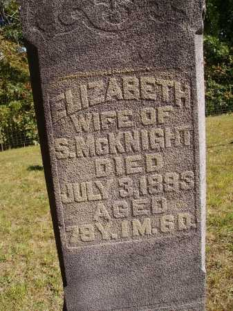 MCCASKEY, ELIZABETH - CLOSEVIEW - Meigs County, Ohio | ELIZABETH - CLOSEVIEW MCCASKEY - Ohio Gravestone Photos