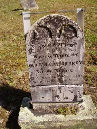 MCCASKEY, INFANTS - SON & DAU. - Meigs County, Ohio | INFANTS - SON & DAU. MCCASKEY - Ohio Gravestone Photos