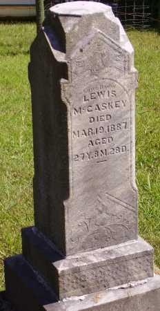 MCCASKEY, LEWIS - OVERALL VIEW - Meigs County, Ohio | LEWIS - OVERALL VIEW MCCASKEY - Ohio Gravestone Photos
