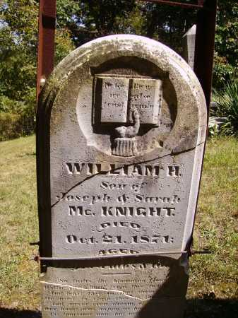 MCKNIGHT, WILLIAM H. - OVERALL VIEW - Meigs County, Ohio | WILLIAM H. - OVERALL VIEW MCKNIGHT - Ohio Gravestone Photos